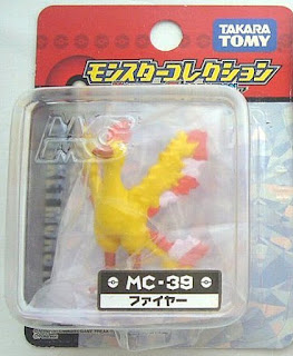 Moltres  figure Takara Tomy Monster  Collection MC series