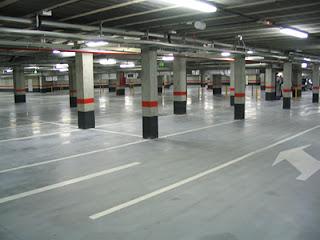 Parking en la Avenida de Cataluña