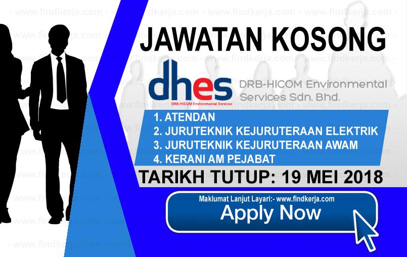 Jawatan Kerja Kosong DRB-HICOM Environmental Services logo www.findkerja.com mei 2018