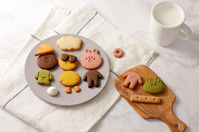 Line Friends Flagship Store Garosugil Korea cookies