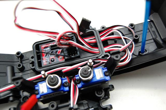 Traxxas TRX-4 wiring mess