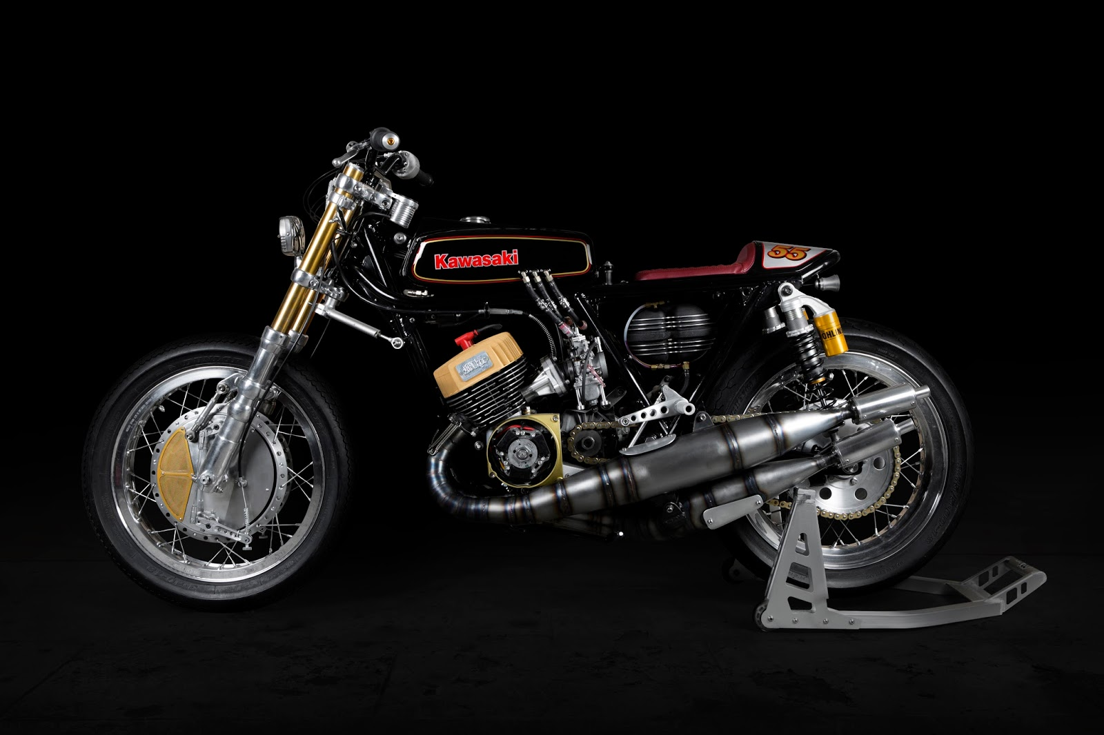 Kawasaki H1 Triple 500 By MHC Workshop