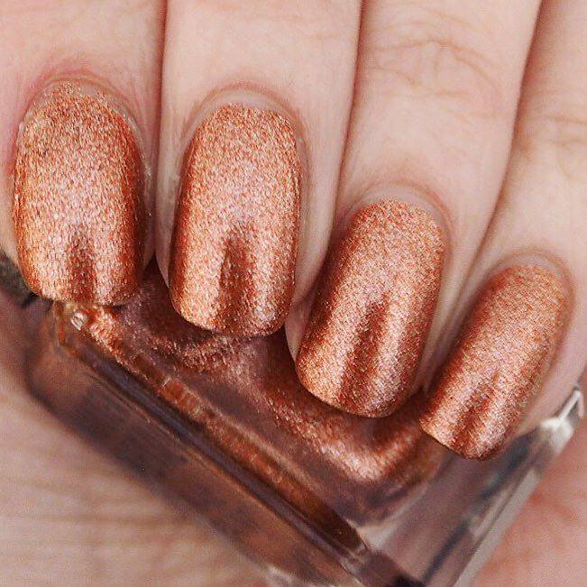 Loves List: January, Katie Kirk Loves, UK Blogger, Lifestyle Blogger, Beauty Blogger, Barry M Copper Mine Nail Polish, Nail Blogger