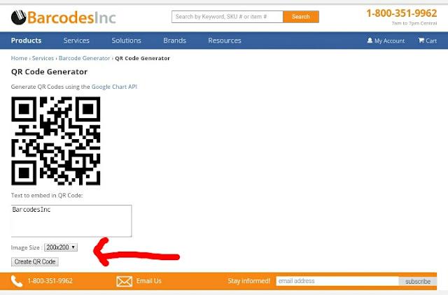 Cara membuat QR code dengan tool online gratis