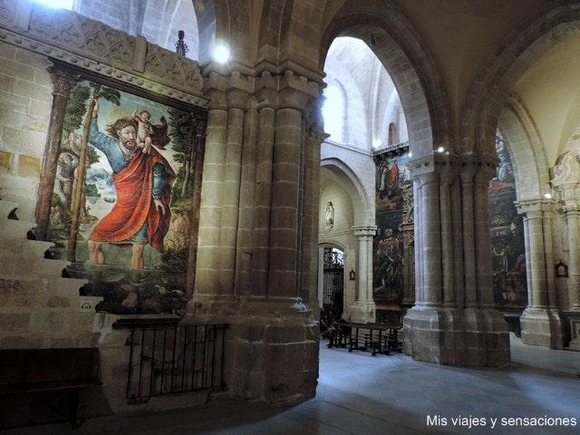 Interior de la catedral de San Salvador, Zamora, Castilla y León