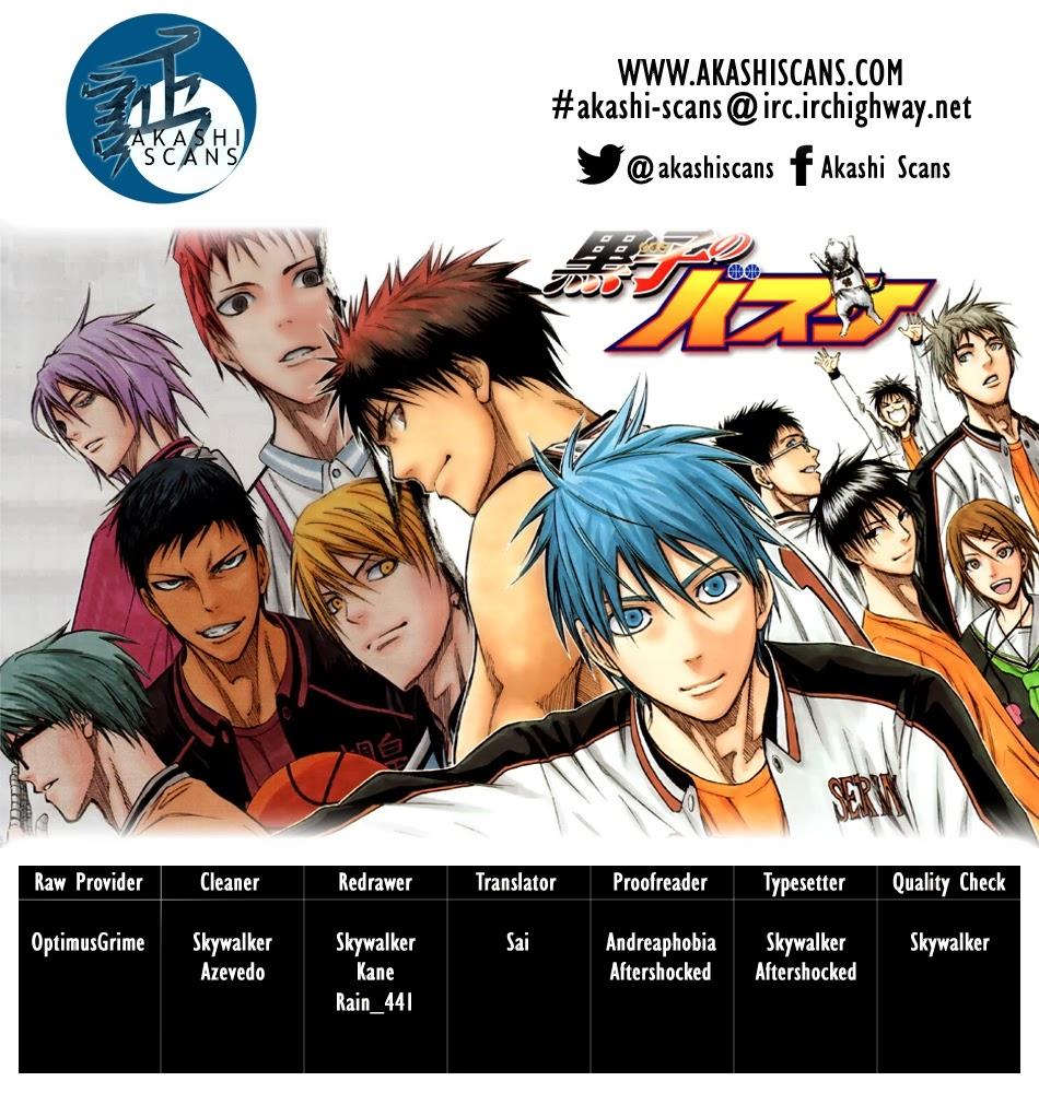 Kuroko No Basket chap 234 trang 3