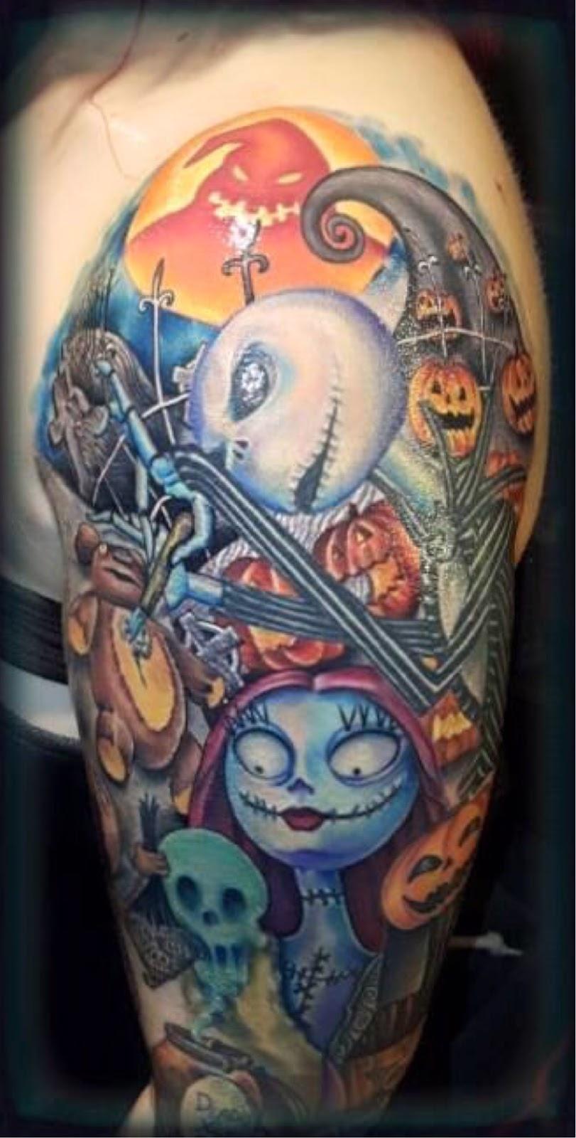 Eternal Wynter: Nightmare Before Christmas tattoo!
