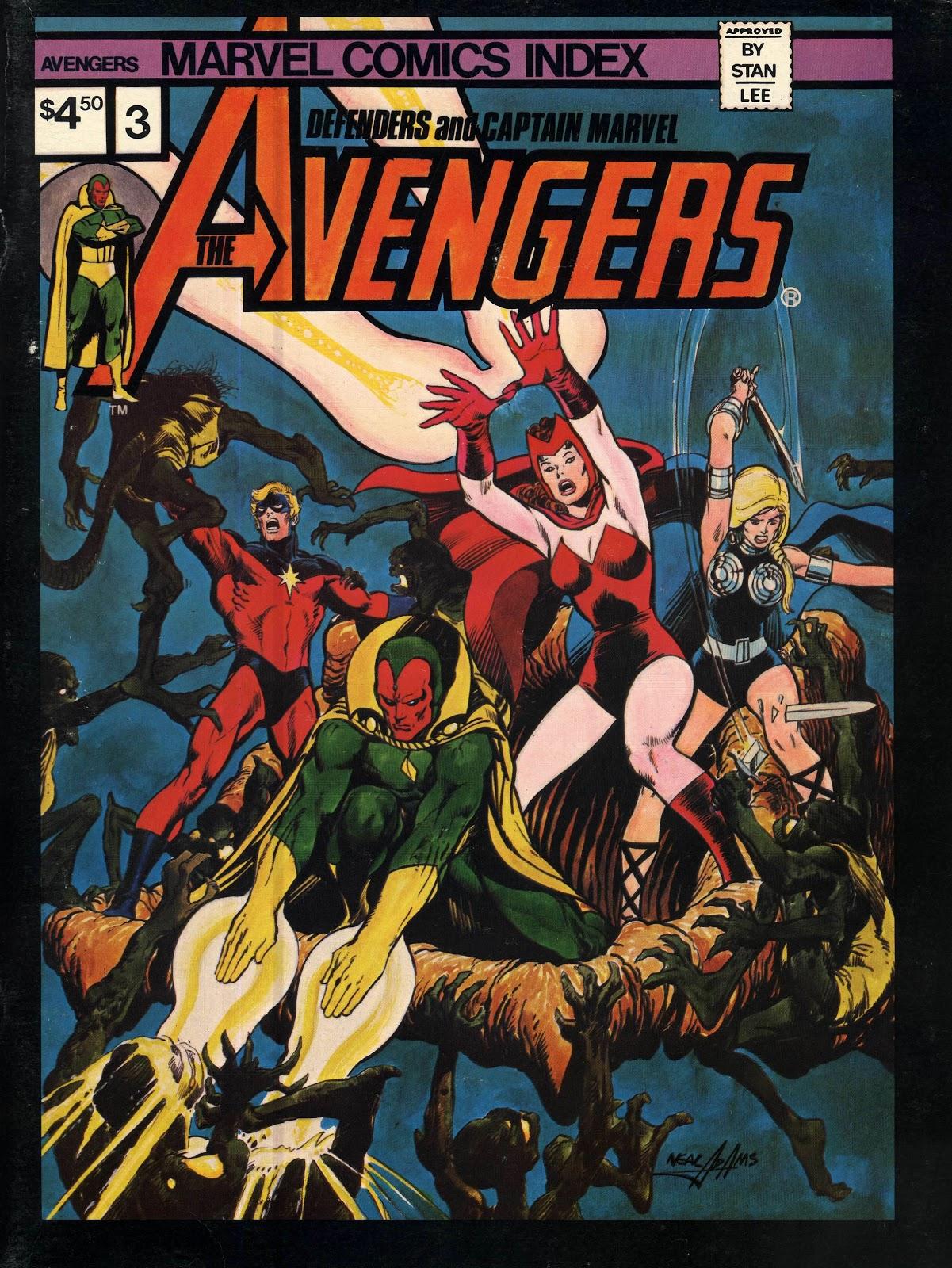 Starlogged Geek Media Again Marvel Comics Index Issue 3 border=