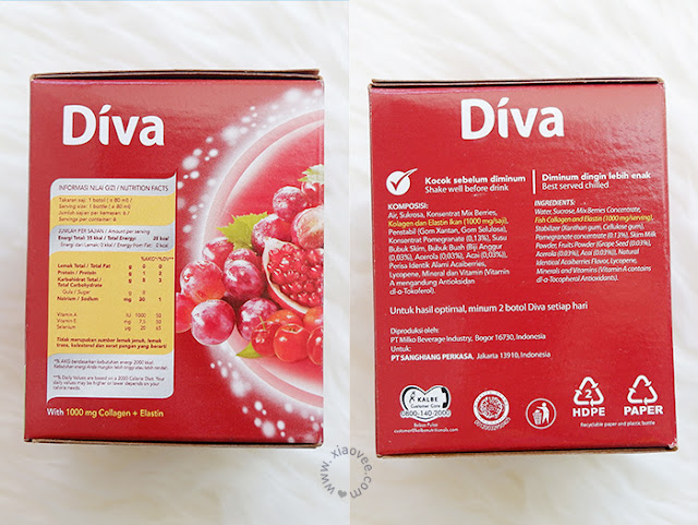 Diva Beauty Drink Review, Minuman Diva apa ya, Review Diva Minuman Kolagen, Collagen Drink Diva Review