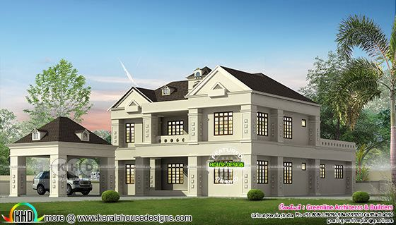 2956 4 bedroom house in Colonial style home