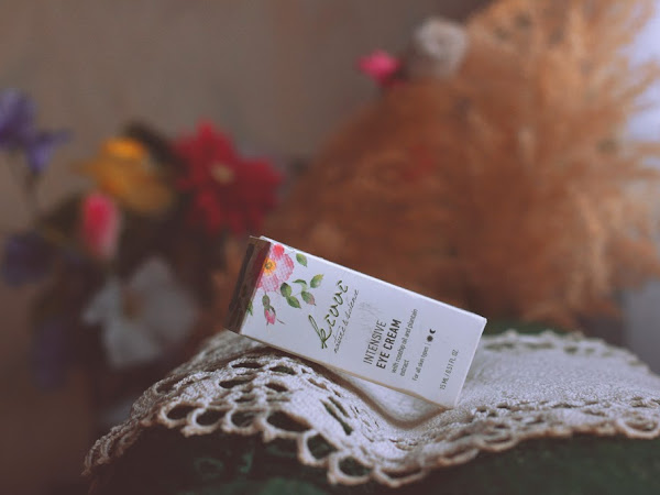 REVIEW: Kiwi Natural - Intensive Eye Cream