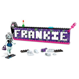 MH Monsterific Name Builder Frankie Stein Mega Blocks Figure
