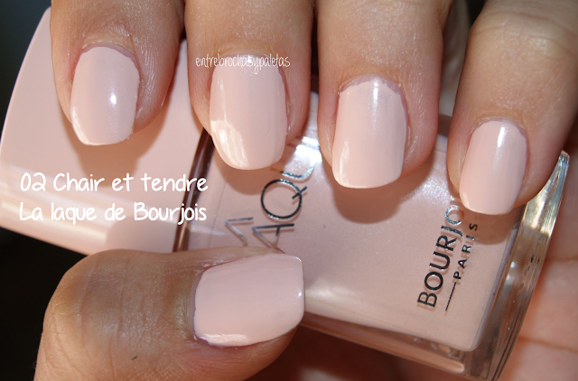 esmalte uñas bourjois chair et tendre