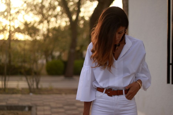Camisa blanca, look clasico, kanimambo,