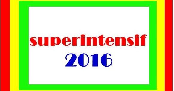 Superintensif Sbmptn 2016 Bambang Hariyanto