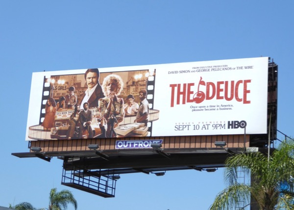 Deuce series premiere billboard