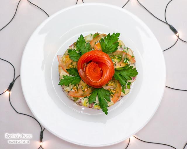 Кольцо для салата своими руками