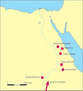 كتاب المناجم و المحاجر في مصر القديمه