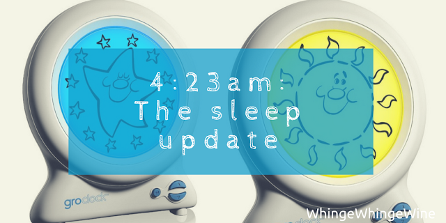 4:23am: The sleep update or why I am VERY tired today