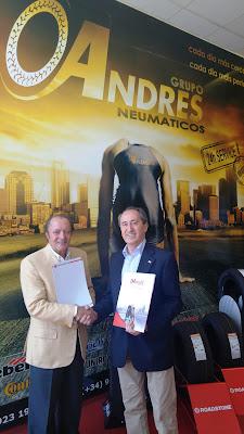 El Grupo ANDRÉS suministrará neumáticos para toda la flota de vehículos de Cruz Roja en Salamanca