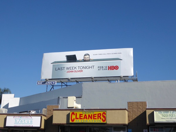Last Week Tonight John Oliver 4 billboard