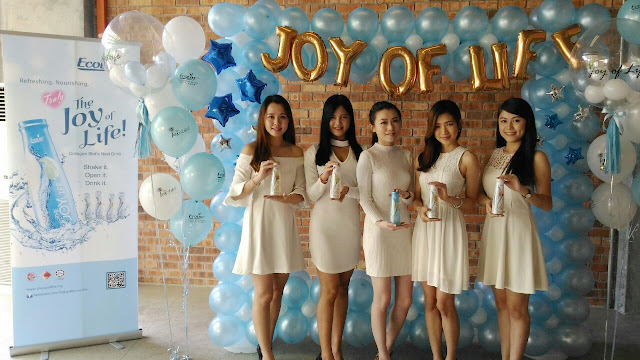 The Joy Of Life, bird's nest and collagen beverages,