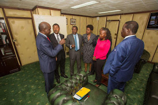 NASA meet IEBC on the Nomination, August election issues.PHOTO | Courtesy