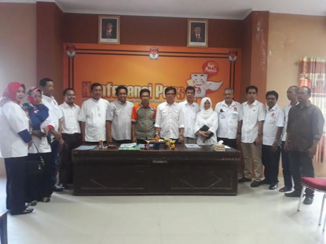 Gerindra Selayar, Serahkan Berkas Pendaftaran, Partai ke KPU