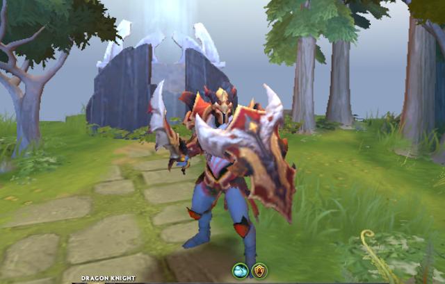 Mod Blazing Oblivion Dragon Knight
