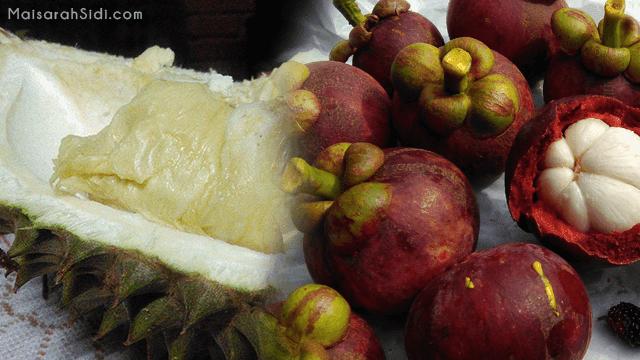 Apabila Musim Manggis dan Durian Sama Waktu