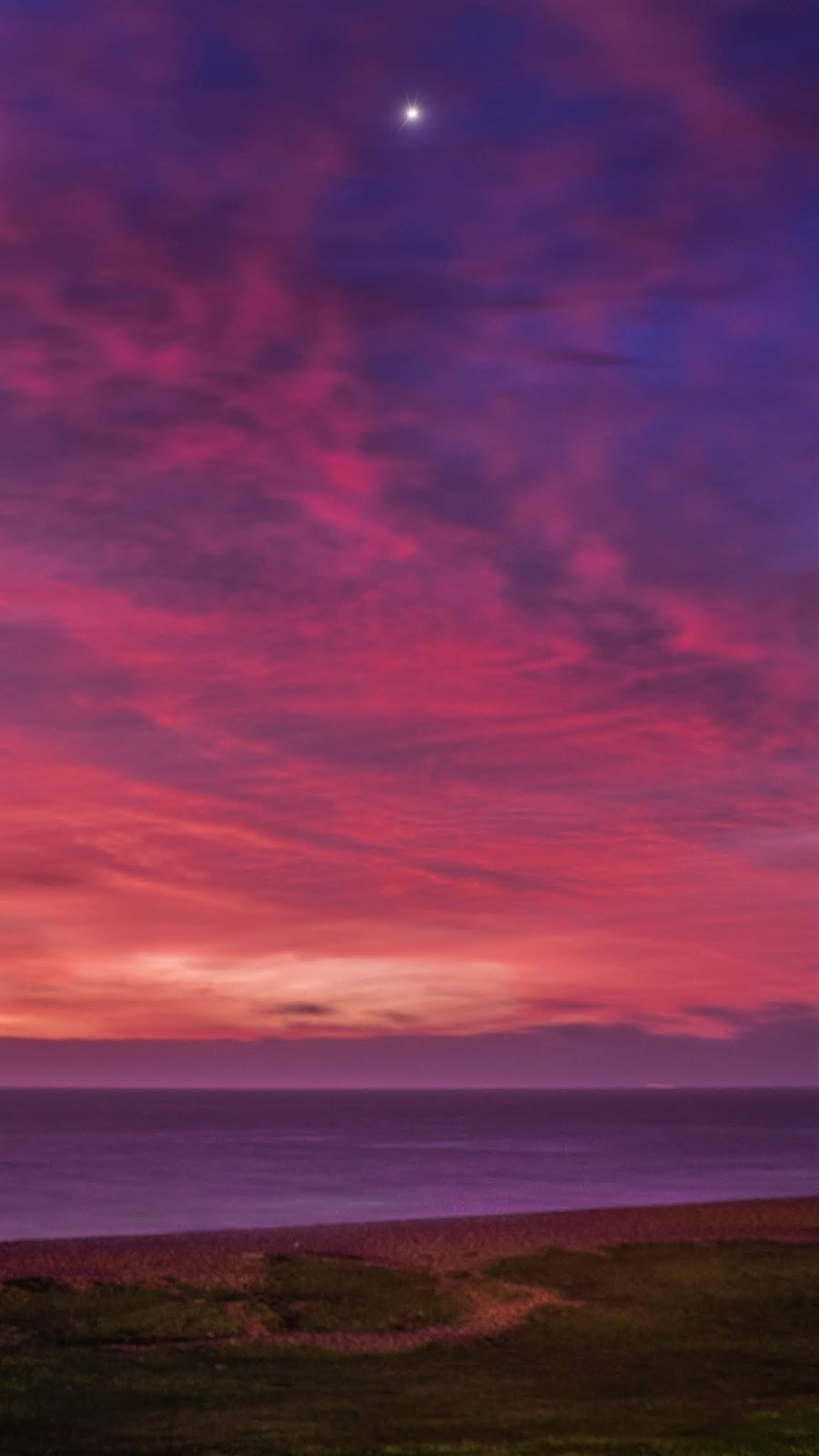 Sunset night