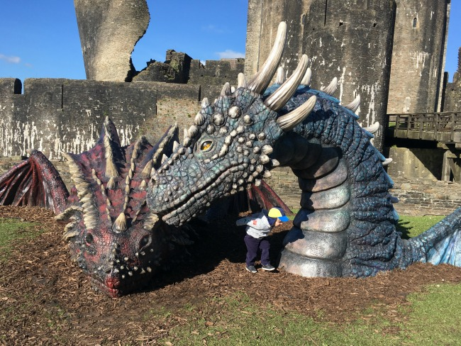 #MySundayPhoto-number-15-dragons-at-caerphilly-castle