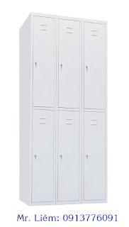 Tủ Locker 6 Ngăn Godrej