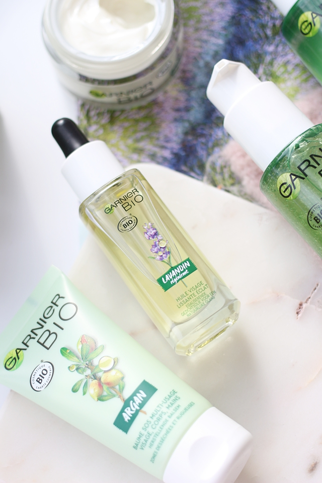 Garnier Bio skincare