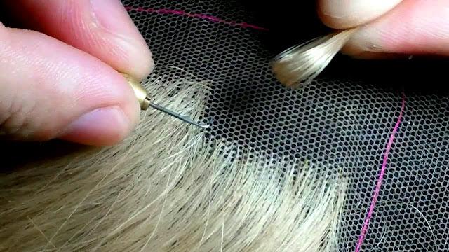 Vídeo Confecção Lace Wig