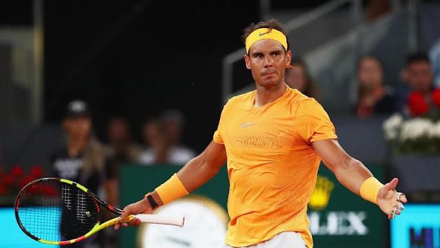 Madrid Terbuka: Nadal Melangkah ke Perempatfinal