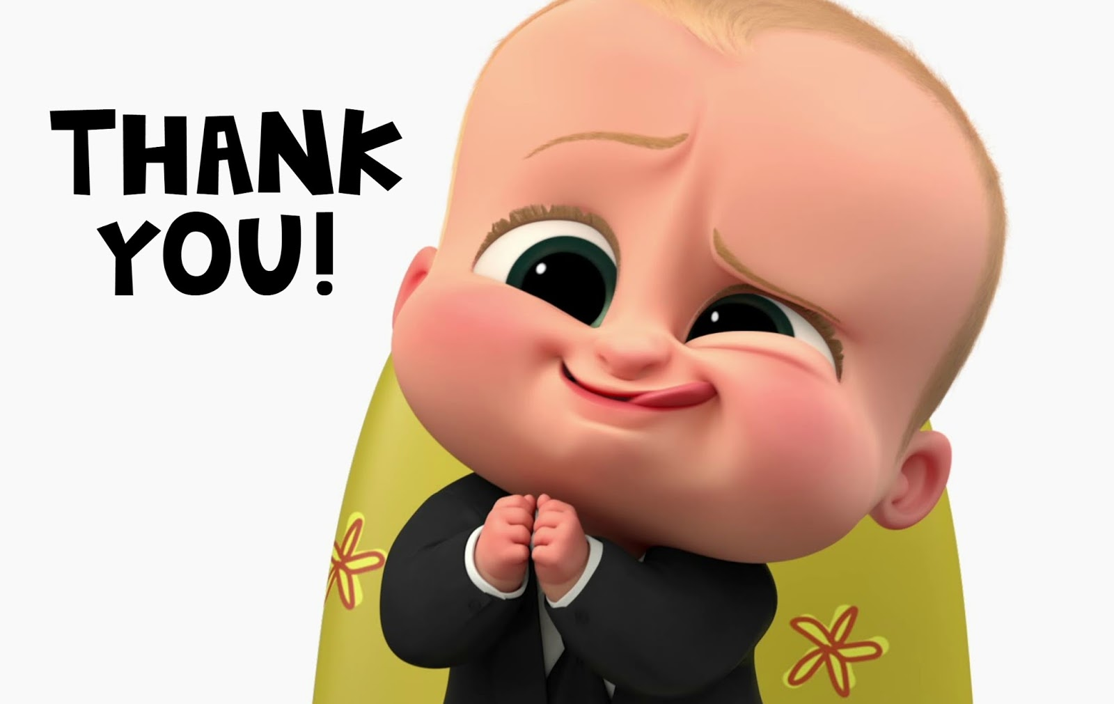 Musings of an Average Mom: Boss Baby Thank You Cards