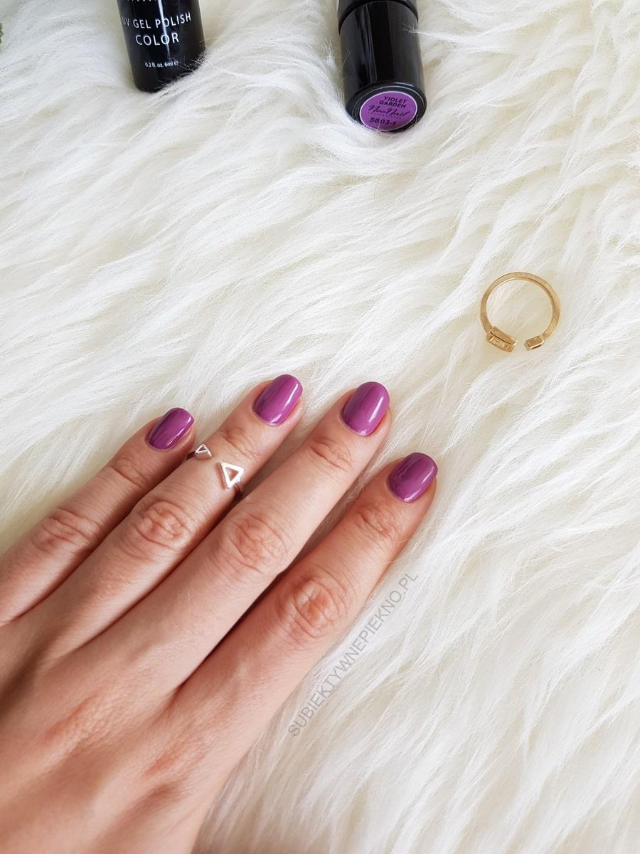 NeoNail Violet Garden swatche, opinie, blog, swatch