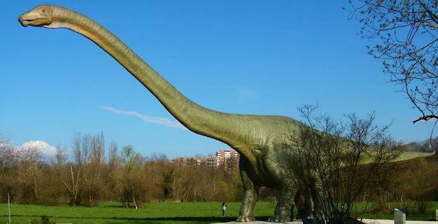 Seismosaurus y dinosaurios