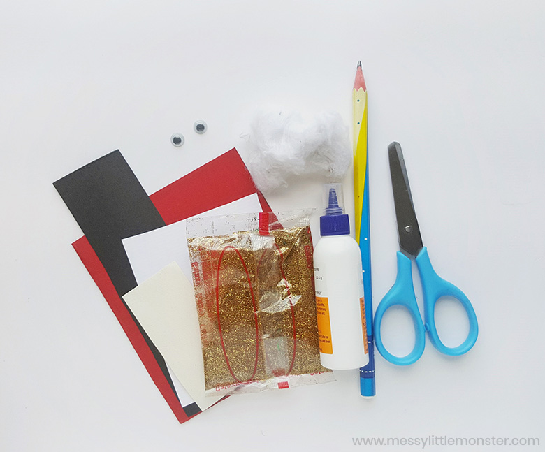 Santa craft supplies