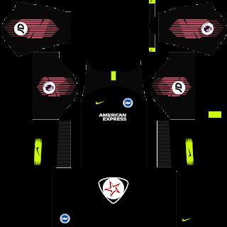 Brighton & Hove Albion FC 2018 - 2019 GK Home Kit