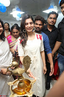 Samantha Ruth Prabhu Smiling Beauty in White Dress Launches VCare Clinic 15 June 2017 075.JPG