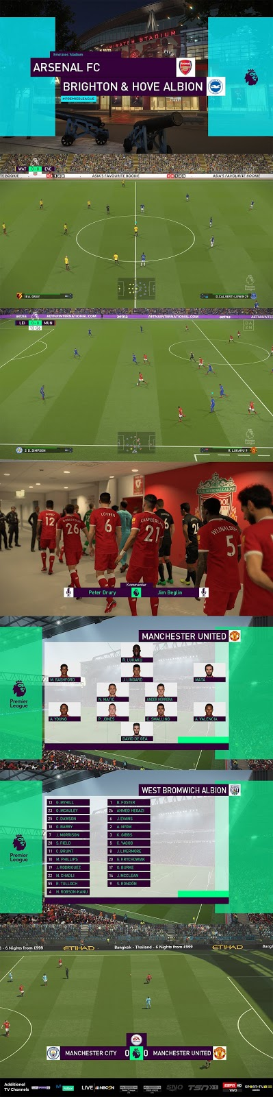 PES 2018 Premier League Scoreboard Beta v2 by Cesc