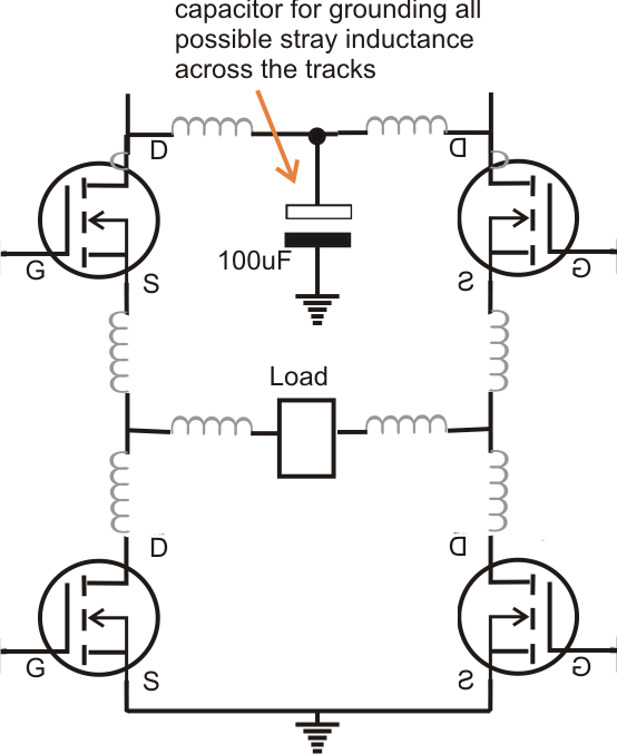 mosfet protection from overheating circuit diagram centre