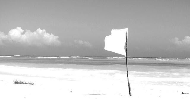 白旗上,white flag 1,雨木散文故事