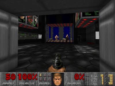人工智慧對戰人類玩家!這次的戰場在電玩遊戲《毀滅戰士》