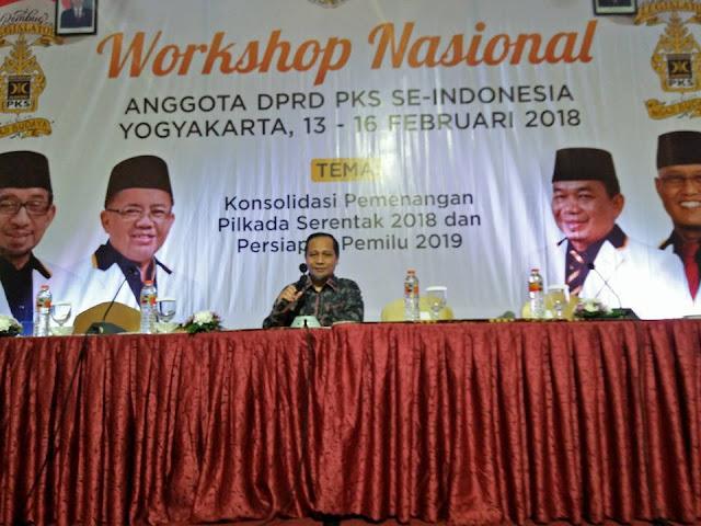 Anggota Legislatif PKS Se Indonesia Gelar Konsolidasi Nasional