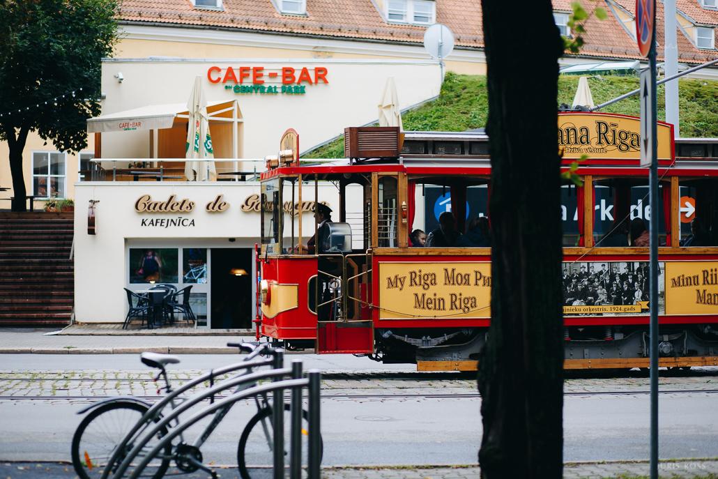 Retro tramvajs vecrīga
