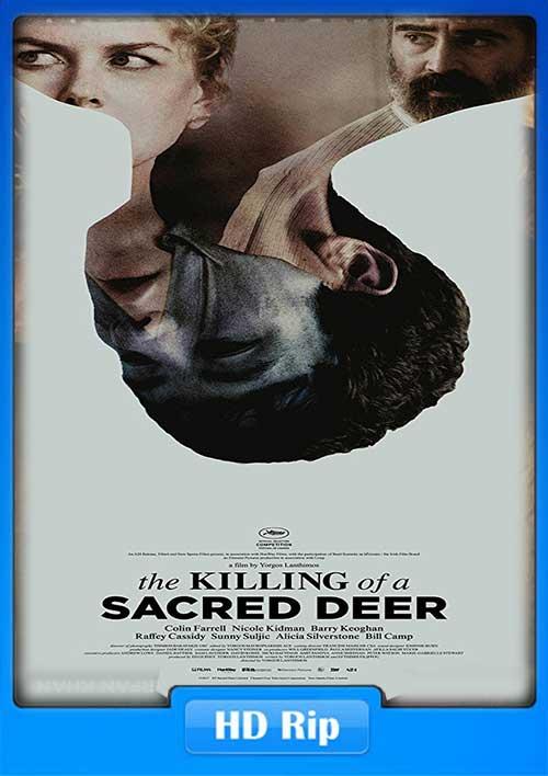 The Killing of a Sacred Deer 2017 720p 950MB WEB-DL Poster
