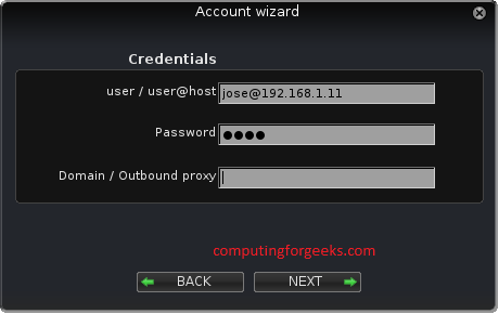 Configuring Softphones for Xmpp server - Computing for Geeks